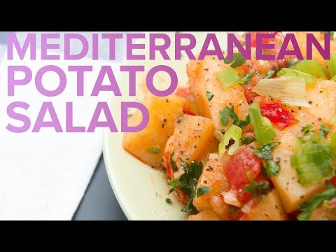 Healthy Mediterranean Potato Salad