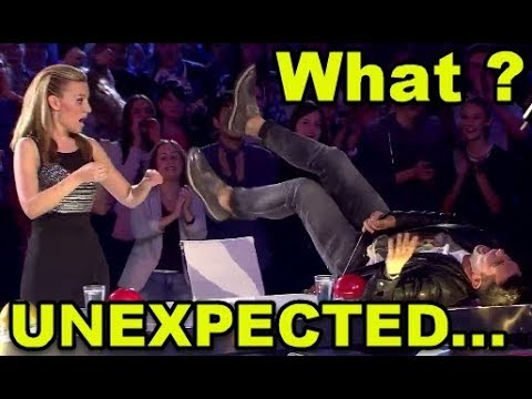 10 MOST *UNEXPECTED MOMENTS* EVER ON GOT TALENT WORLD!