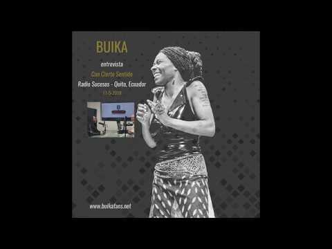 Buika - Entrevista de radio en Quito - 11-5-2018