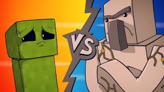 One of Sam Green's most viewed videos: EPIC MINEQUEST 4 | Creeper VS Iron Golem by Sam Green Media