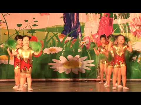 Múa Dân Vũ - LaLaLa - Lớp Lá - Trường Mầm Non Song Ngữ Tuổi Thơ - Quy Nhơn 2016