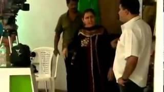 Fighting Malayalam serial actress