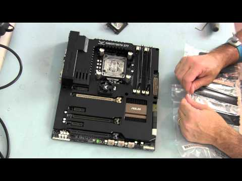 CORSAIR 600T Water Cooled Gaming Rig - Part 4 - The Build