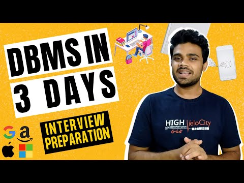 DBMS Roadmap for Placements | Complete DBMS in just 3 Days | All resources #Day 9