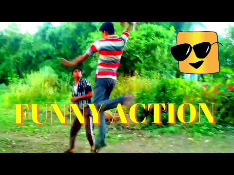 FUNNY ACTION VIDEO|| FUNNY FIGHTING|| FUNNY MARTIAL ART|| By amrit creativity ||COMEDY VIDEO