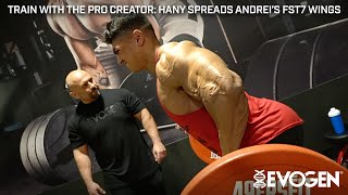 Train with The Pro Creator: Hany Spreads Andrei's FST-7 Wings thumbnail
