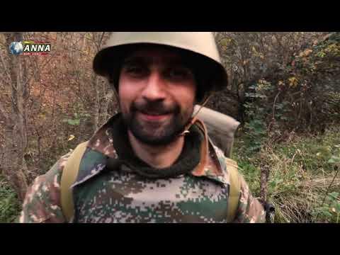 Уникальные кадры с Карабаха. Уничтожение группы диверсантов ВС Азербайджана