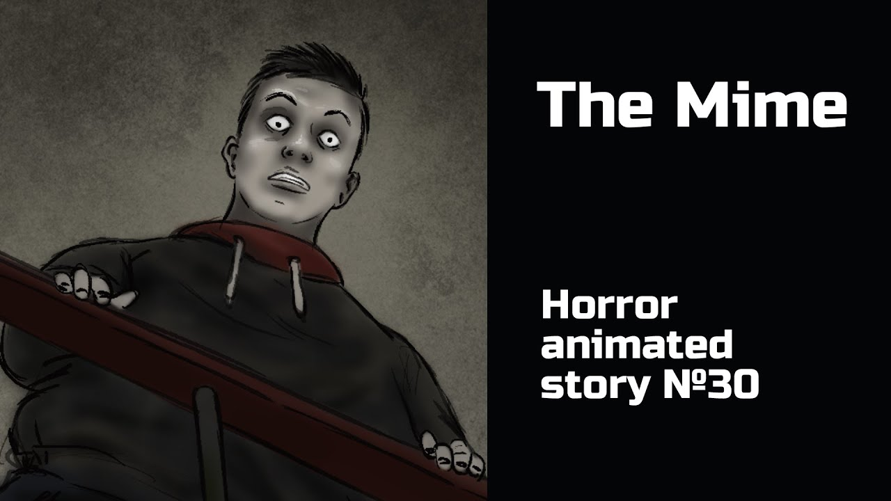 The Creepy Mime. Horror animated story №30