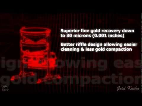 Gold Kacha Mineral Concentrator - How It Works & Features 2012