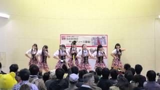 山口県のご当地アイドルの「山口活性学園」アイドル部 2012/11/18(日)...