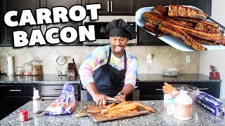 I Made CARROT BACON From Tik Tok | VIRAL FOODS | Alonzo Lerone