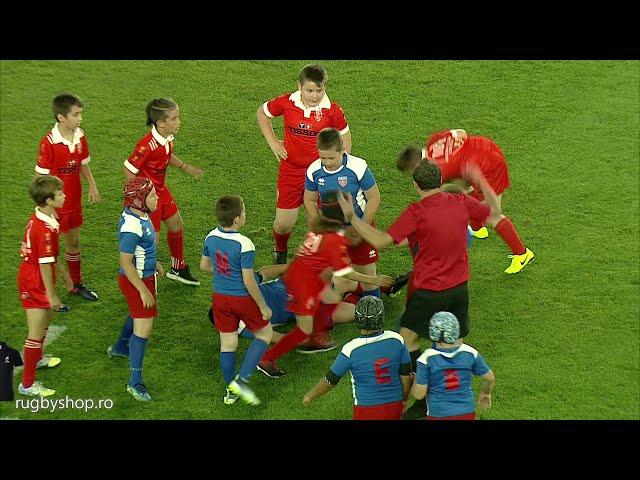 Micuții Stejărei pe Stadionul Național de Rugby Arcul de Triumf