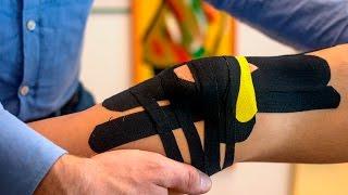 Knie tapen ✅ Kinesio Tape zum Stabilisieren ↔️ bei Knieschmerzen