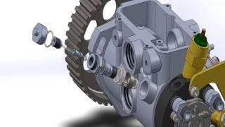 Bomba Rotativa Lucas M260 Assembly