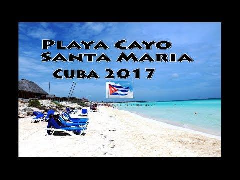 Playa Cayo Santa Maria Cuba June  2017