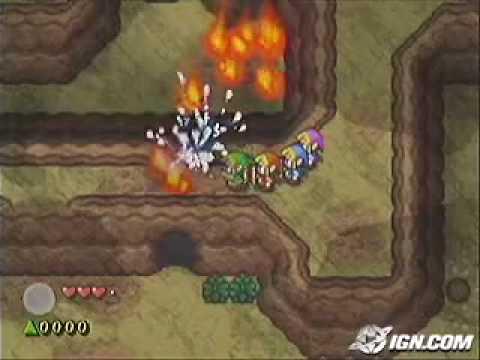 The Legend of Zelda four swords adventures trailer