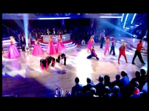 Strictly 2010 Launch Show -Professional Dancers Group Medley Dance (Includes The 'Light Up' VW)