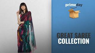 Best Satya Saree Prime Day Deals: Satya By Satya Paul Saree with Blouse Piece