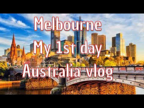 #Melbourne #Australia #Blogging #Travel  ||My First Day In Melbourne- #Airport #Skybus