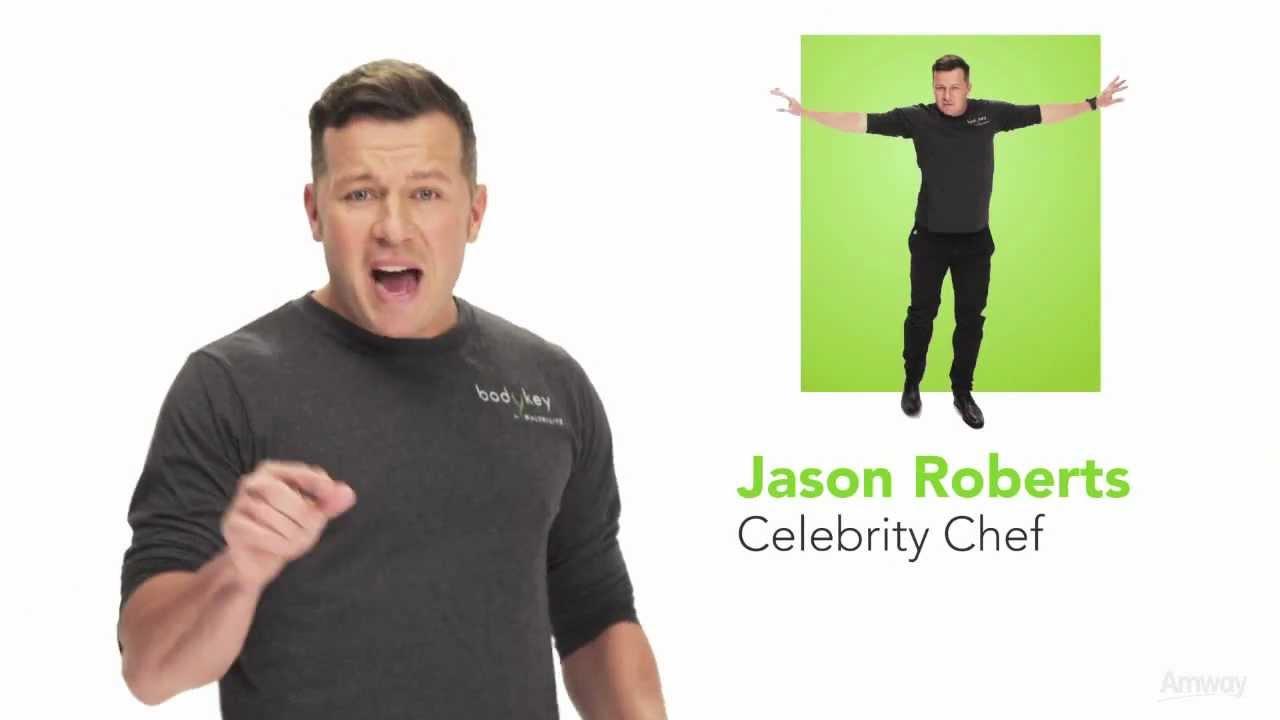 Jason Roberts Introduces BODYKEY by Nutrilite Weight Management Program