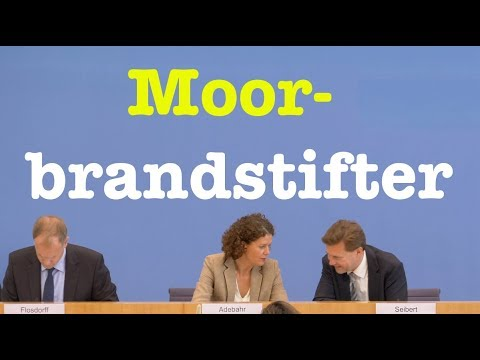 21. September 2018 - Bundespressekonferenz - RegPK