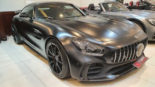 Mercedes AMG GT-R review (Urdu)