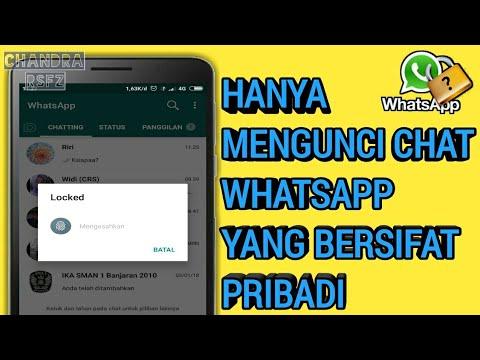 Cara Mengunci Chat Pribadi Di Whatsapp Tanpa Aplikasi Youtube