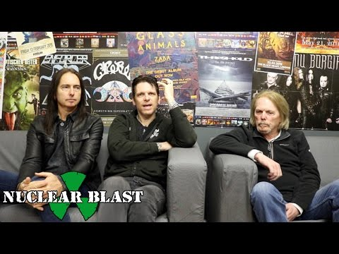 BLACK STAR RIDERS - Ricky Warwick's Inspirational Vocalists (OFFICIAL INTERVIEW)
