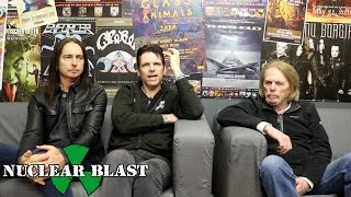 BLACK STAR RIDERS - Ricky Warwick\'s Inspirational Vocalists (OFFICIAL INTERVIEW)