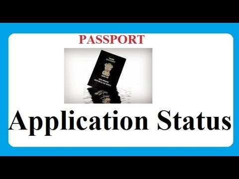 How to Check Passport Application Status Online Track Application