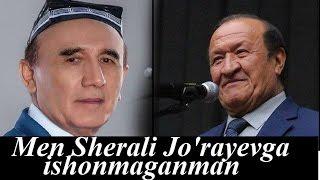 Men Sherali Jo'rayevni ashulla aytishiga ishonmaganman