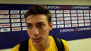 Armand Duplantis: European Pole Vault Champion Berlin 2018