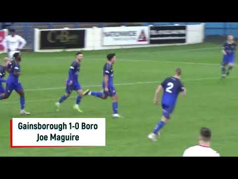Gainsborough Scarborough Goals And Highlights