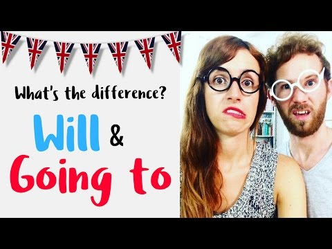 La diferencia entre WILL & GOING TO en inglés