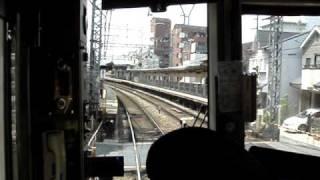 近鉄シリーズ21 前面展望 Kintetsu Series 21 front view