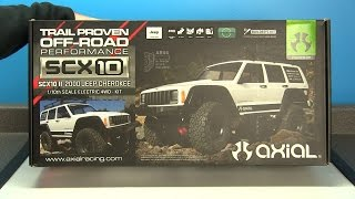 Axial SCX10 II 2000 Jeep Cherokee Kit Unboxing & Overview