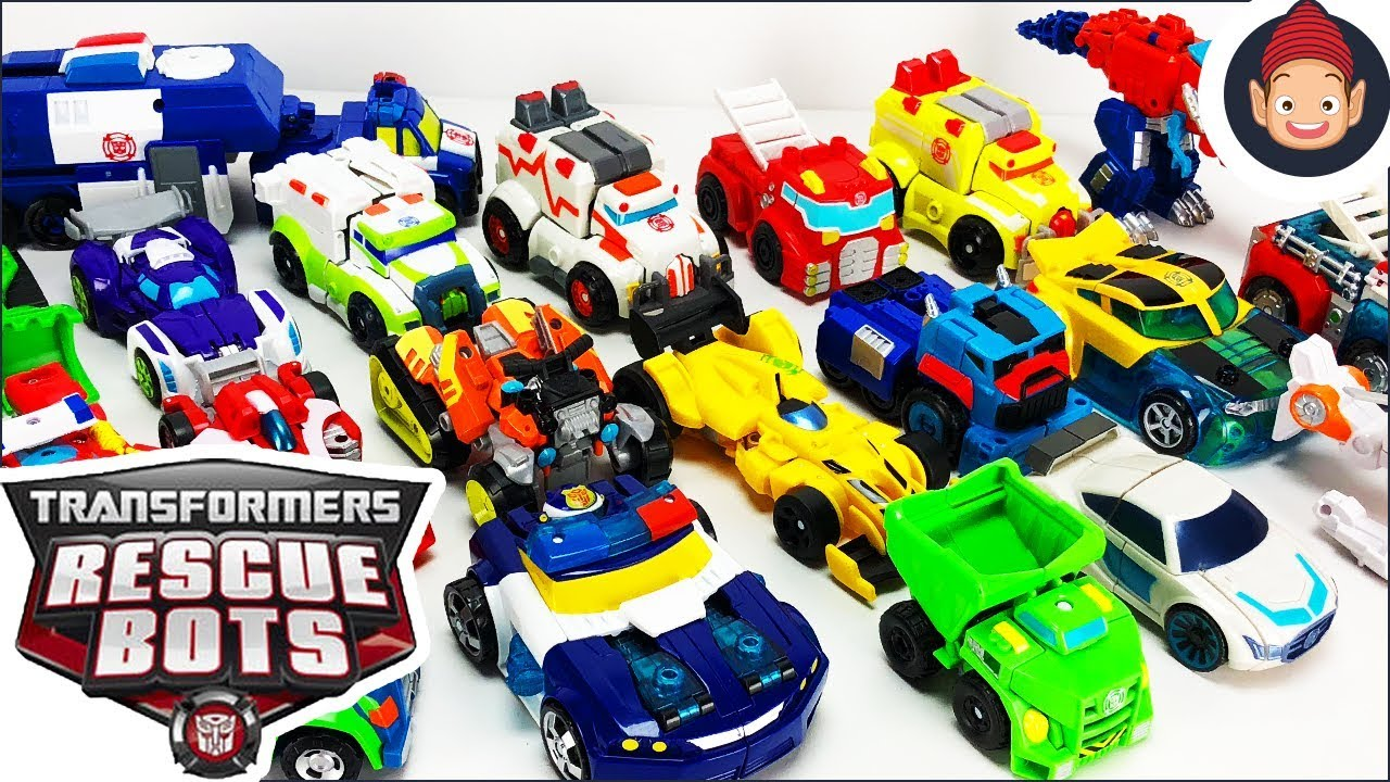 Transformers Rescue Bots Toys Collection Featuring Boulder Heatwave