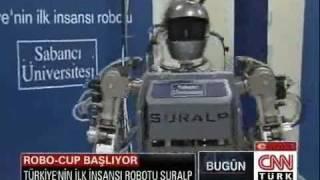 SURALP Robo Cup 2011 CNN Türk Canlı Yayın