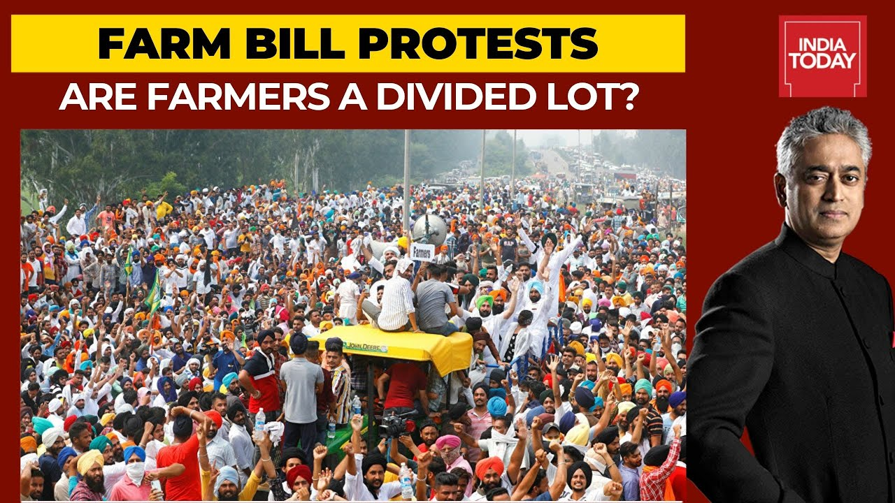 Farmers Protest Against Farm Bills: Is There A North- South Divide? | News  Today With Rajdeep - YouTube