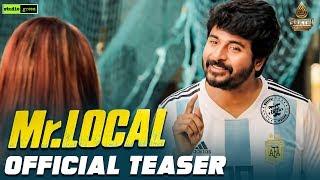 Mr.Local Official Teaser | Sivakarthikeyan, Nayanthara | M. Rajesh | Reaction | SK 13 Teaser