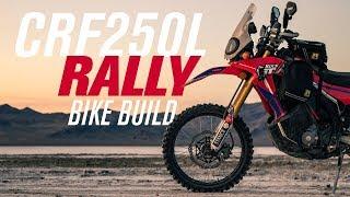 Honda CRF250L Rally Bike Build