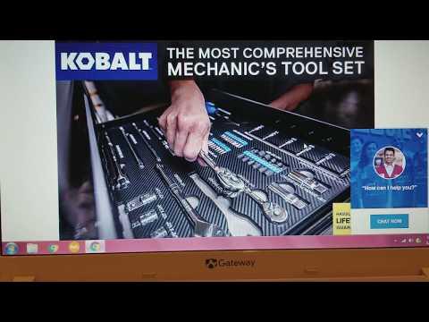Lowe's tool deal alert - 300 pc mechanic set -  blooper to Mp3
