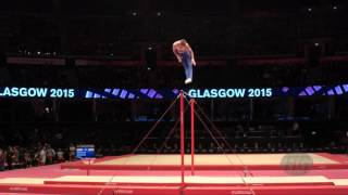 STRETOVICH Ivan (RUS) - 2015 Artistic Worlds - Qualifications Horizontal Bar