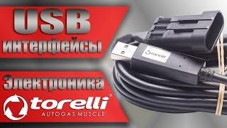 ГБО 4 поколения, USB интерфейсы. Электроника Torelli (Autronic)газобаллонное оборудование.