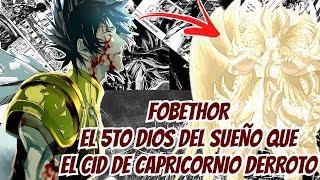 El Cid de Capricornio derroto a 5 Dioses del Sueño - Saint Seiya The Lost Canvas
