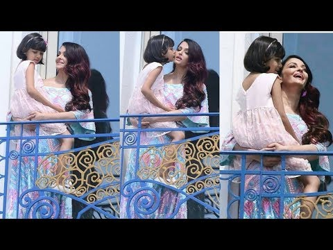 Lovely moments of Aishwarya Rai Bachchan with Aaradhya Bachchan at Cannes festival 2018