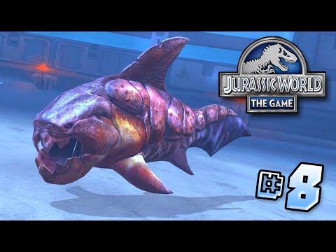 MAXED Lvl 40 Dunkleosteus!! || Jurassic World - Lagoon Series - Ep 8 HD