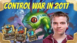 Thijs tries CONTROL WARRIOR in 2017 ( Journey to Un