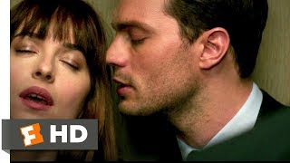 Fifty Shades Darker (2017) - Love in an Elevator Scene (4/10)  Movieclips