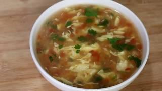 এগ টমেটো স্যুপ রেসিপি || egg Tomato soup recipe ||